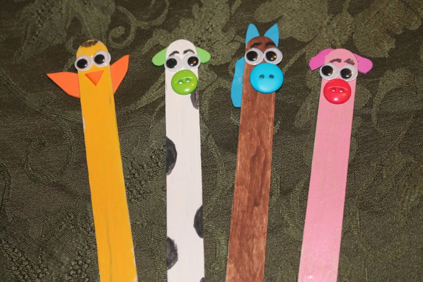 Craft Sticks: Animal Farm