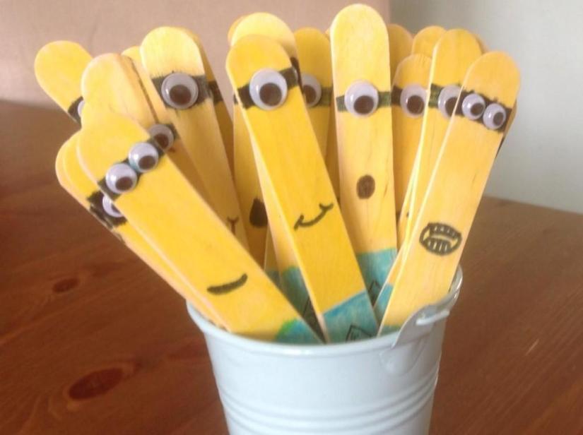 Craft Sticks: Despicable Me