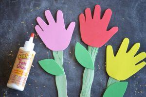 Craft Sticks Flower