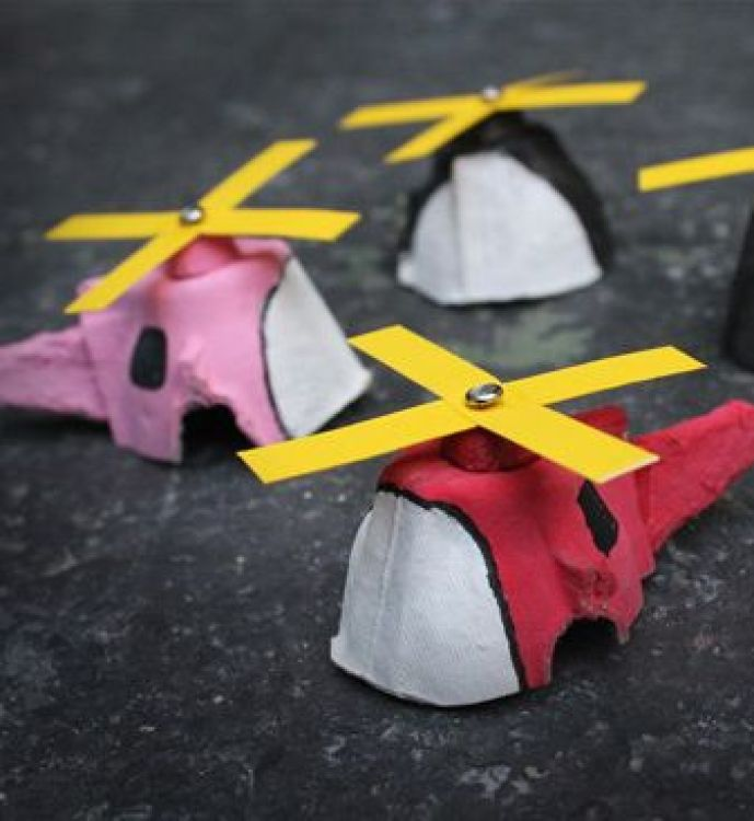 Crafts for boys: mini copter