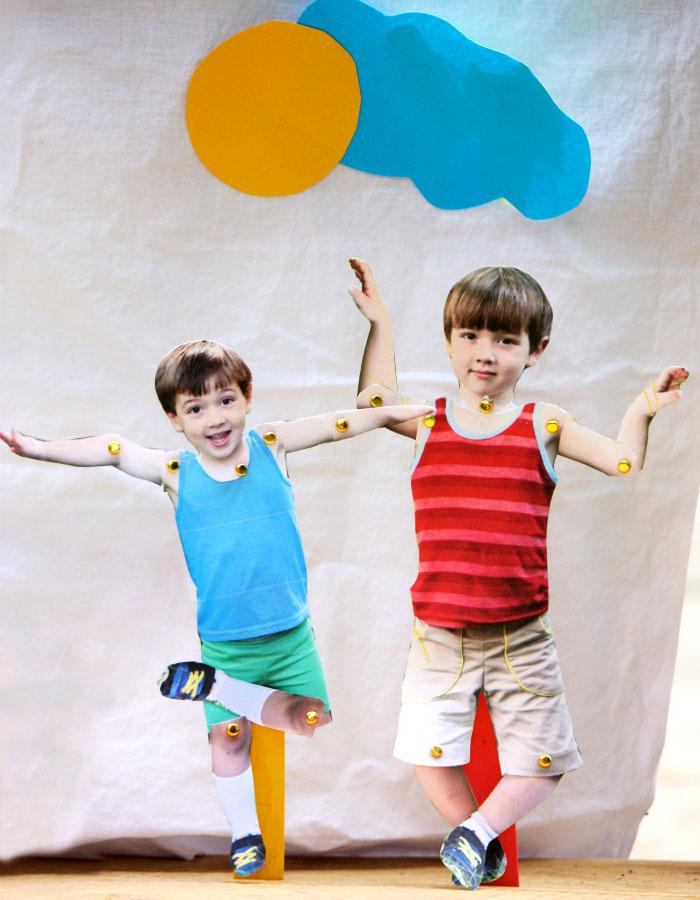 Craft Sticks Puppets