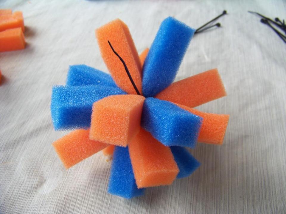 Crafts for boys: spongeball