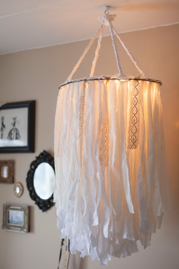 Craft Lights Cloth Chandelier