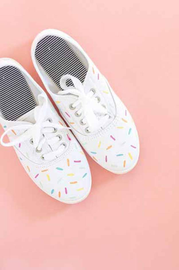 Crafts for Girls Painted Shoes