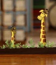 Craft Paper Giraffe