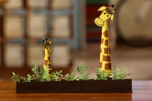 Craft Paper Giraffe
