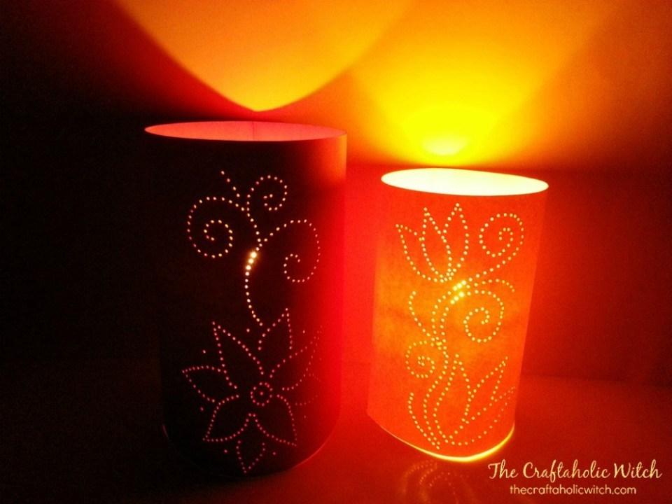 Craft Paper Luminaries