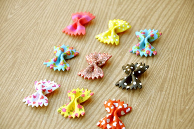 Crafts for Girls Adorable Pasta