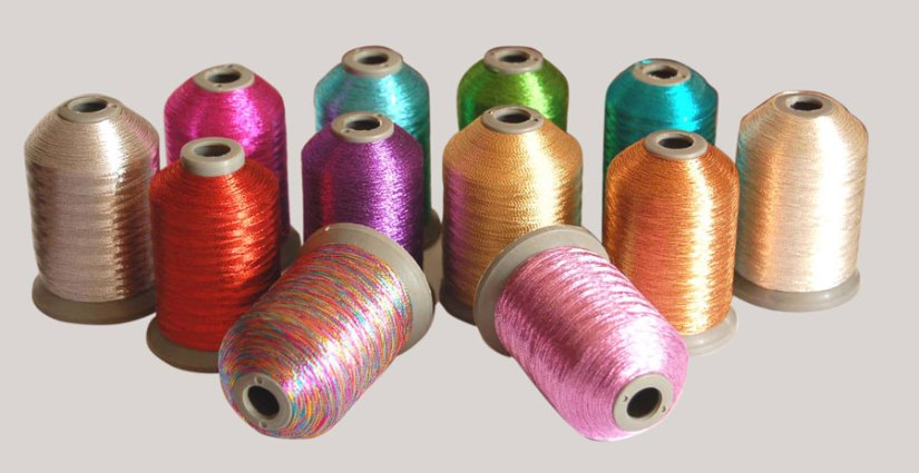 Embroidery Kits Metallic Threads
