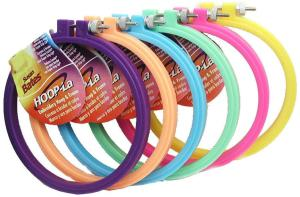 Embroidery Kits Plastic Hoops