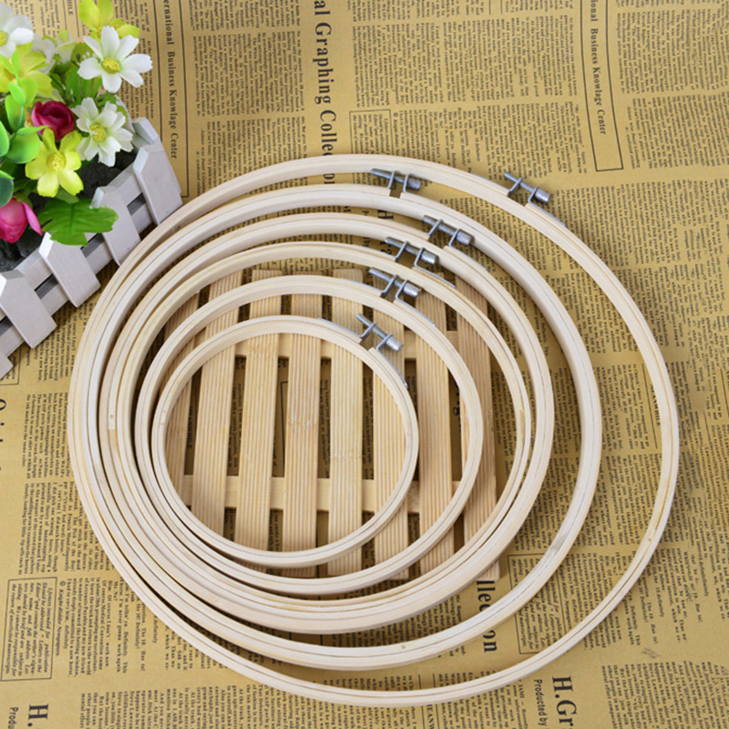 Embroidery Kits Wooden Hoops