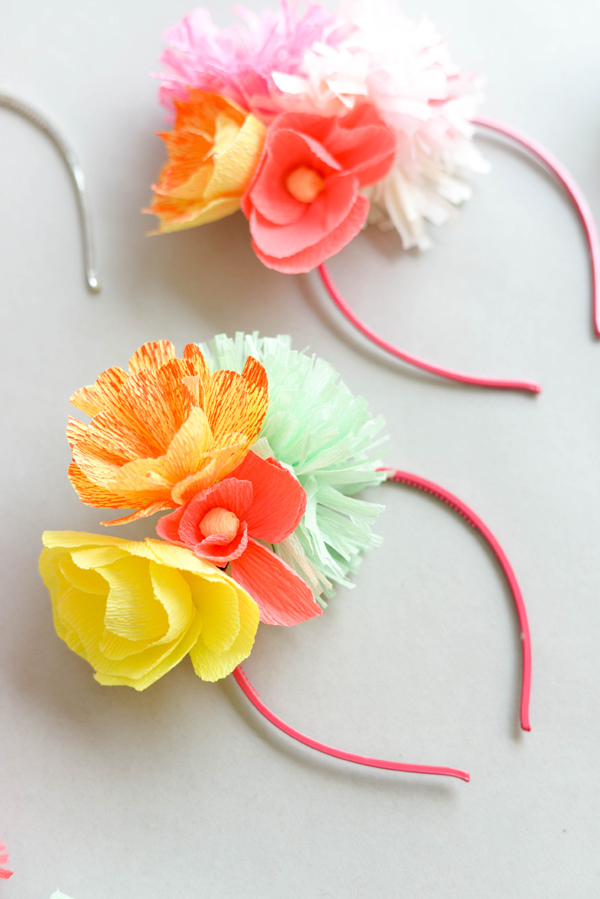 Tissue Paper Craft Headband