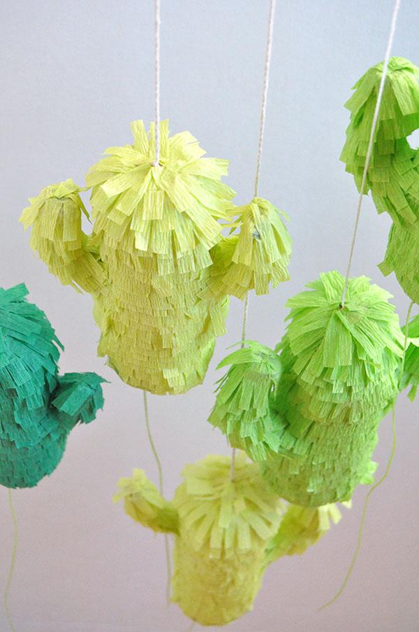Tissue Paper Craft Mini Pinata
