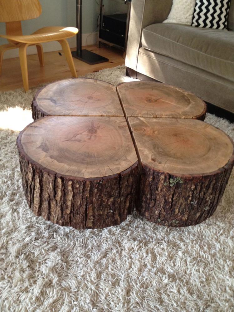 wood crafts oversized coffee table No More Still