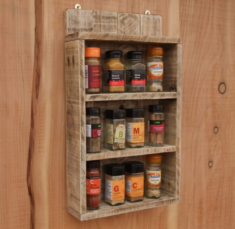 Wood Crafts Pallet Rack