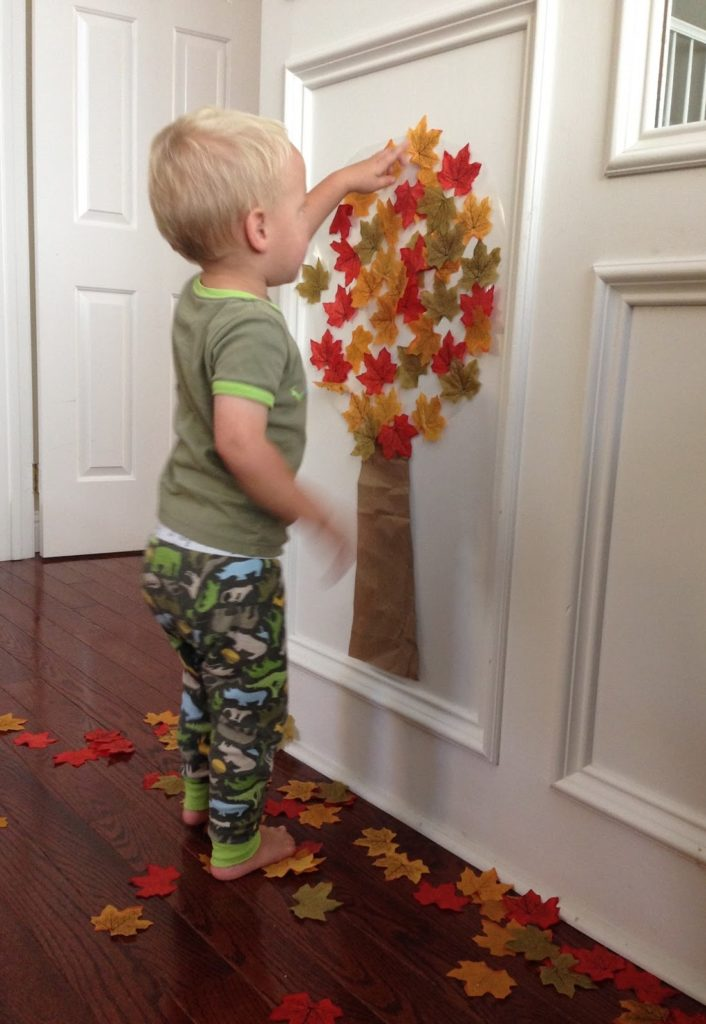 Crafts for Toddlers Contact Paper