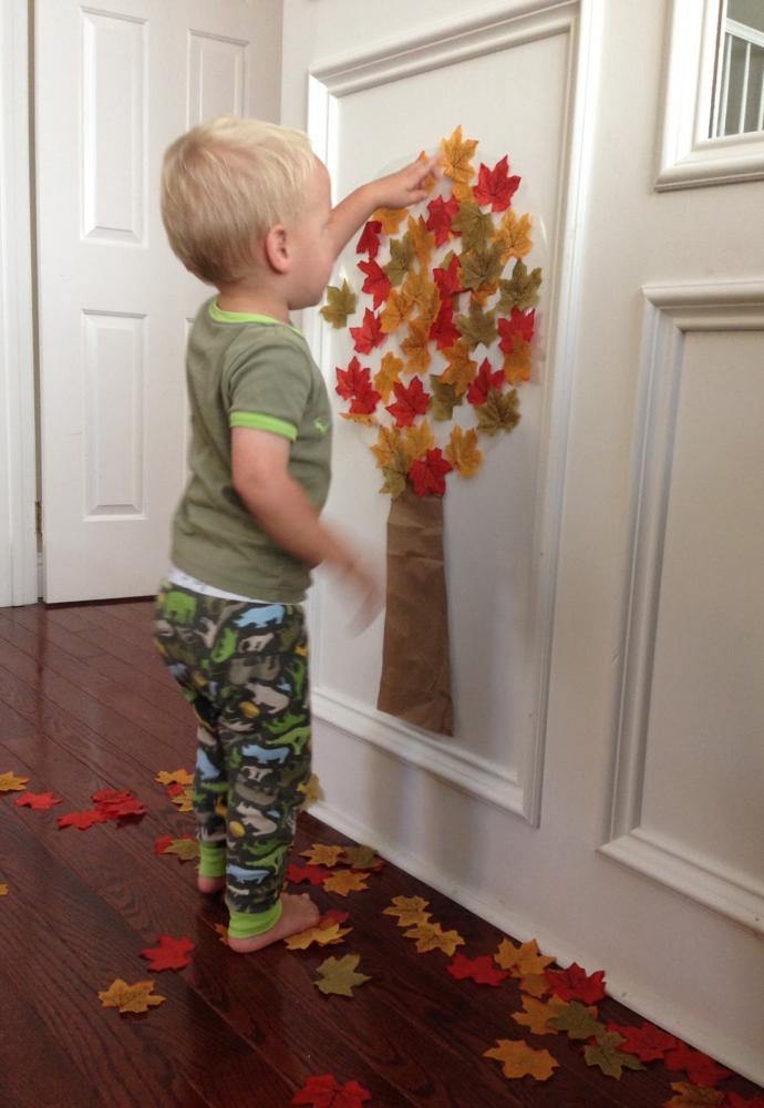 Crafts for toddlers contact paper tree no more still crafts for toddlers contact paper jeuxipadfo Image collections