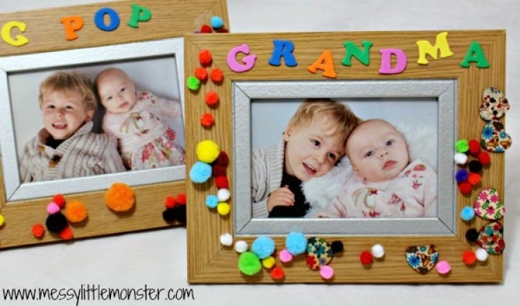 Crafts for Toddlers Personalized Frame
