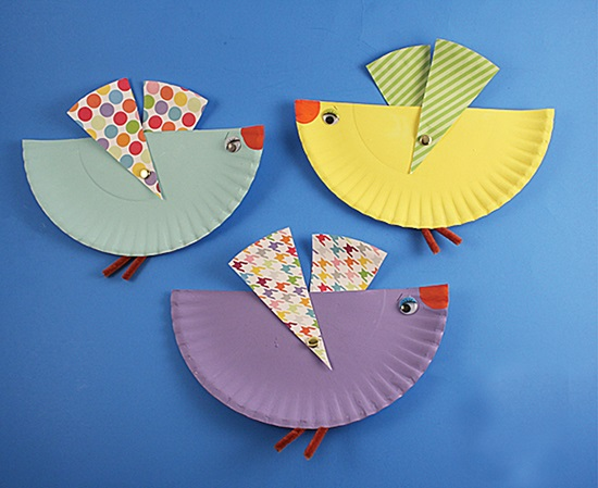 Paper Plate Craft Birds  sc 1 st  No More Still & These 20 Paper Plate Crafts for Kids are Fun and Cheap