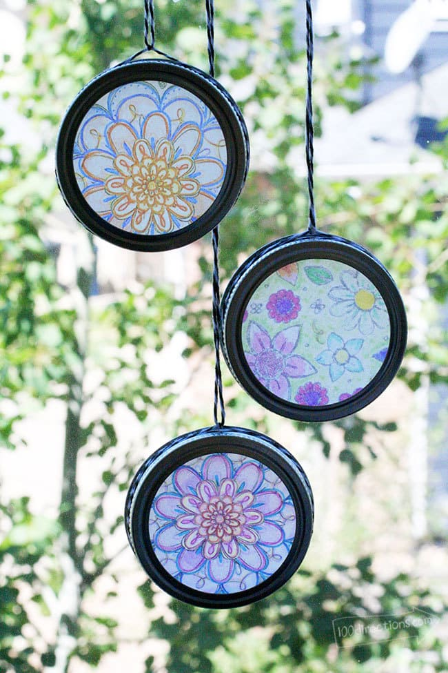 Simple Craft Suncatcher