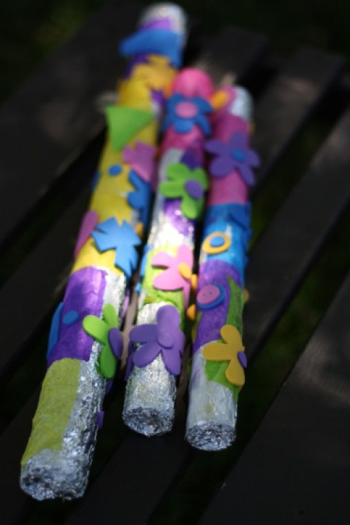 Camping Crafts Sticks