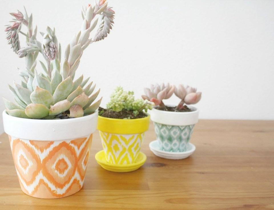 Spring Crafts Terracotta Pots