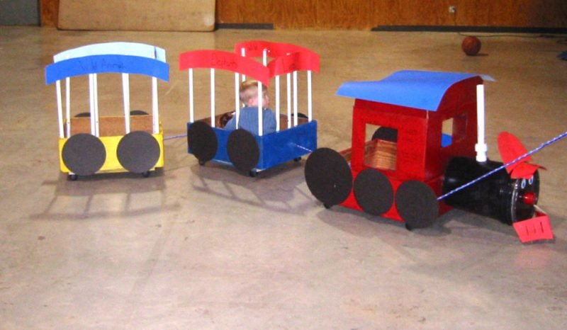 Creative Craft Circus Train