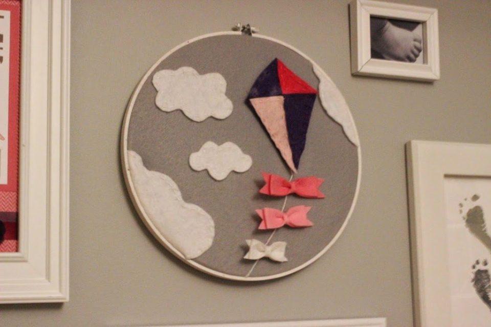 Spring Crafts Kite Hoop
