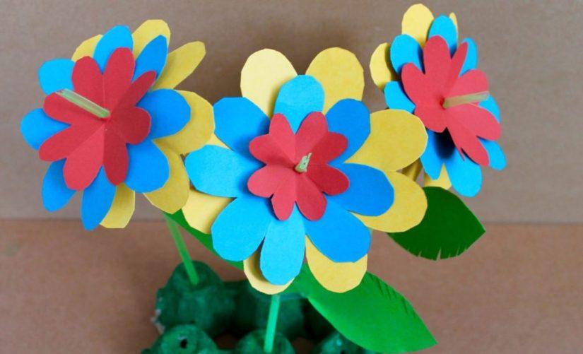 Spring Crafts Straw Flower