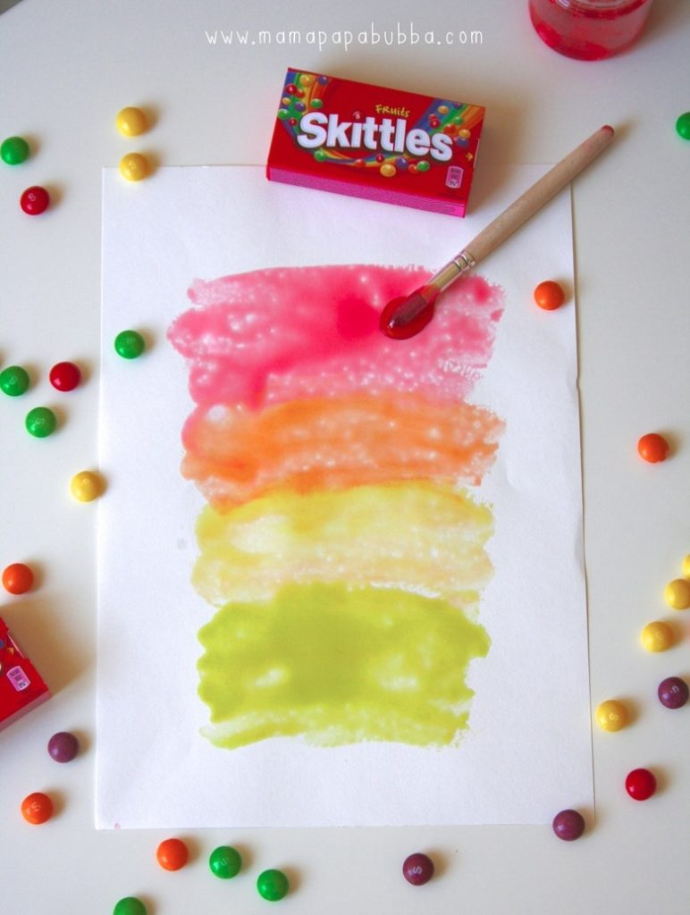 craft paint skittles paint