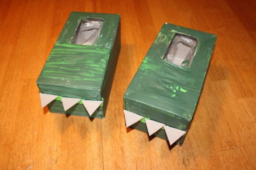 Craft Box Dinosaur Feet