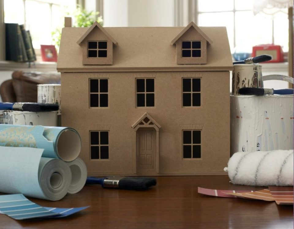Craft Box Dollhouse