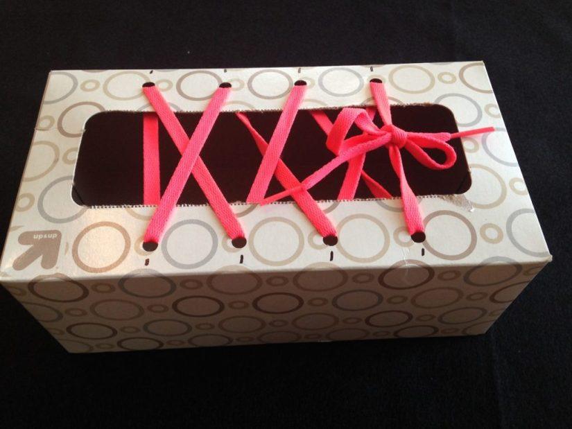Craft Box Shoes Tying