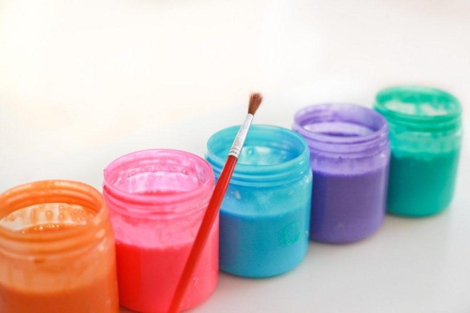 Craft Paint Bath Paint