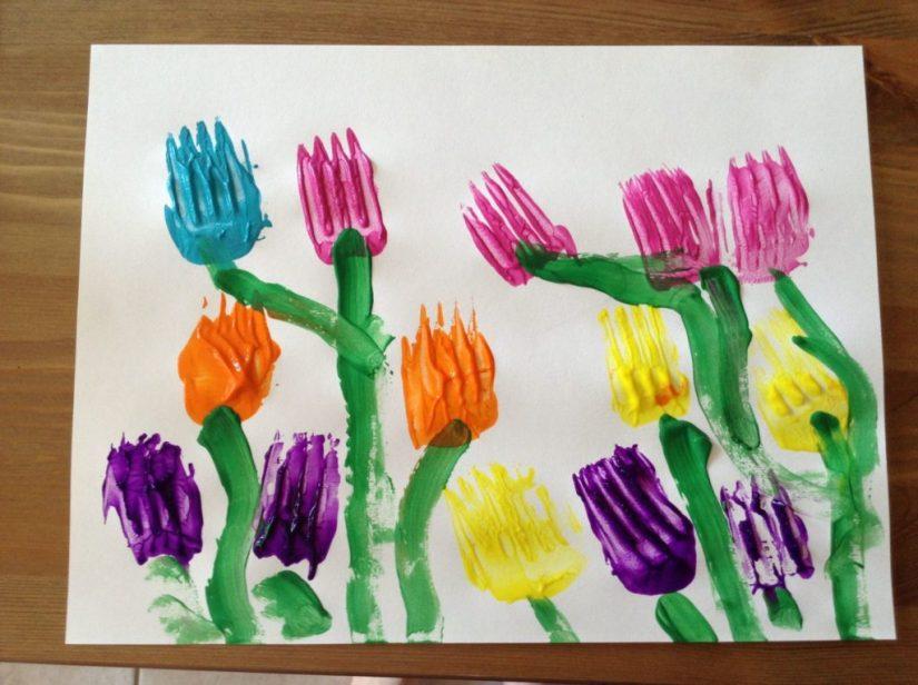 Craft Paint Tulip