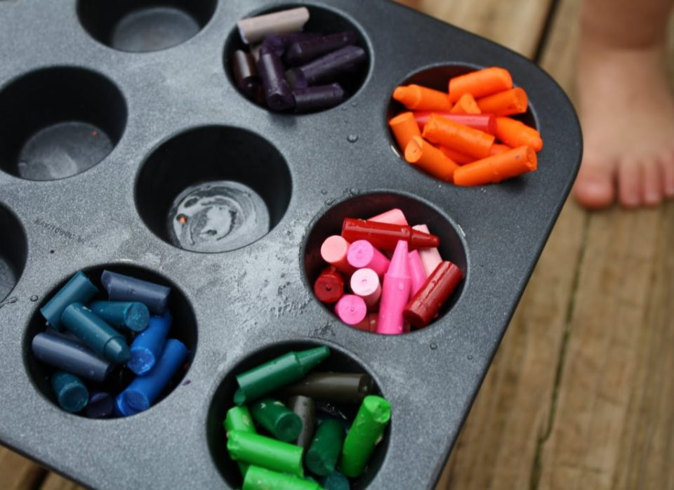 Summer Craft Chunky Crayon