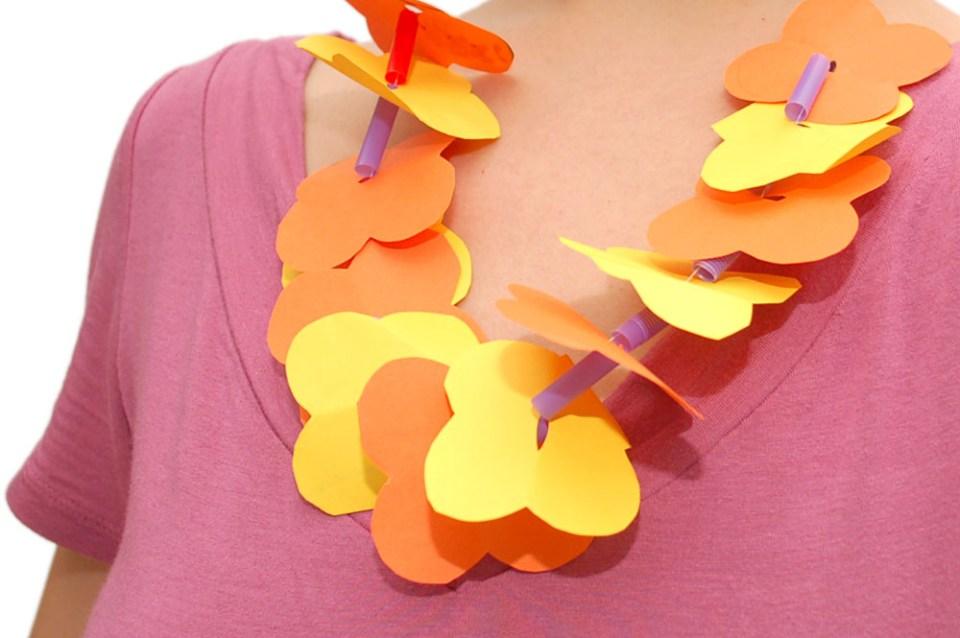 Summer Craft Hawaian Leis