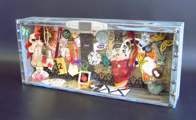 Summer Craft Shadowbox