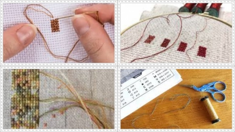 Cross Stitch for Beginners Tweeding