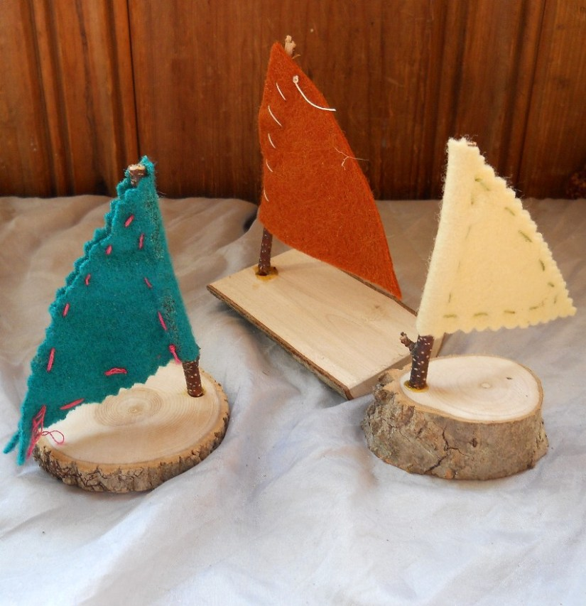 Wood Crafts for Kids Boats