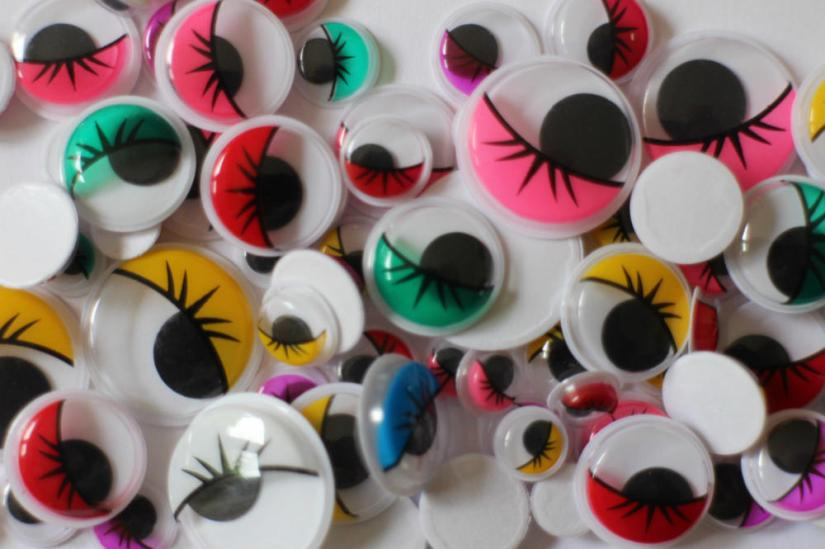 Art and Craft Supplies Eyes