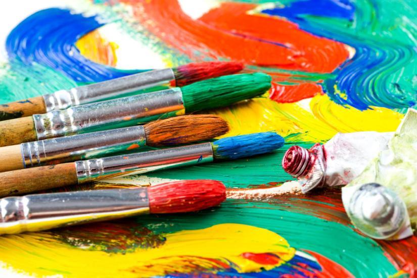 Art and Craft Supplies Paint Brush