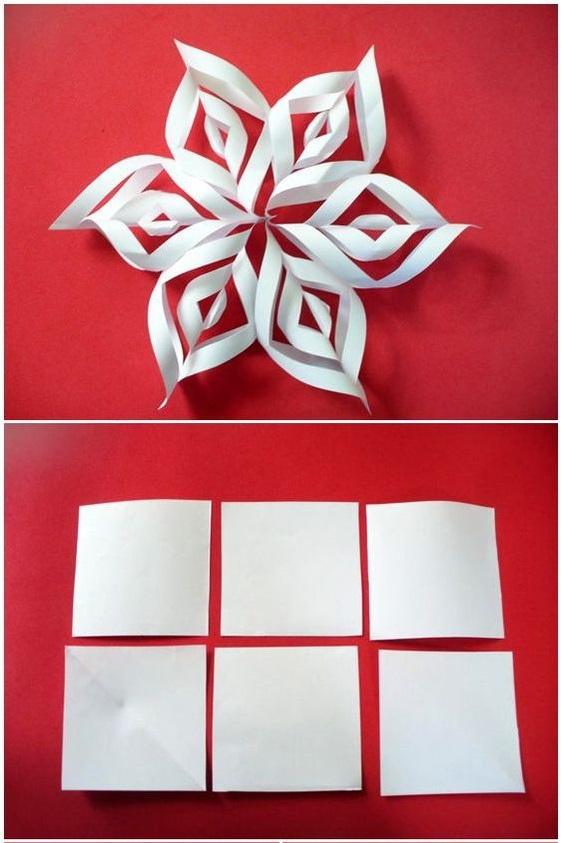 Paper Art for Kids Snowflake Decor Supply