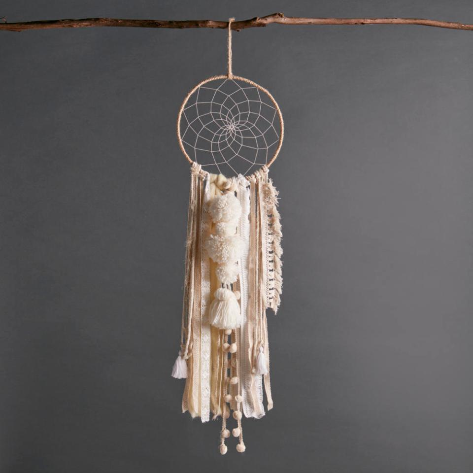 Ecru Color Dreamcatcher