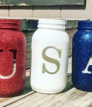 Holiday Craft Mason Jar Trio
