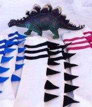 Dinosaur Craft DIY Socks