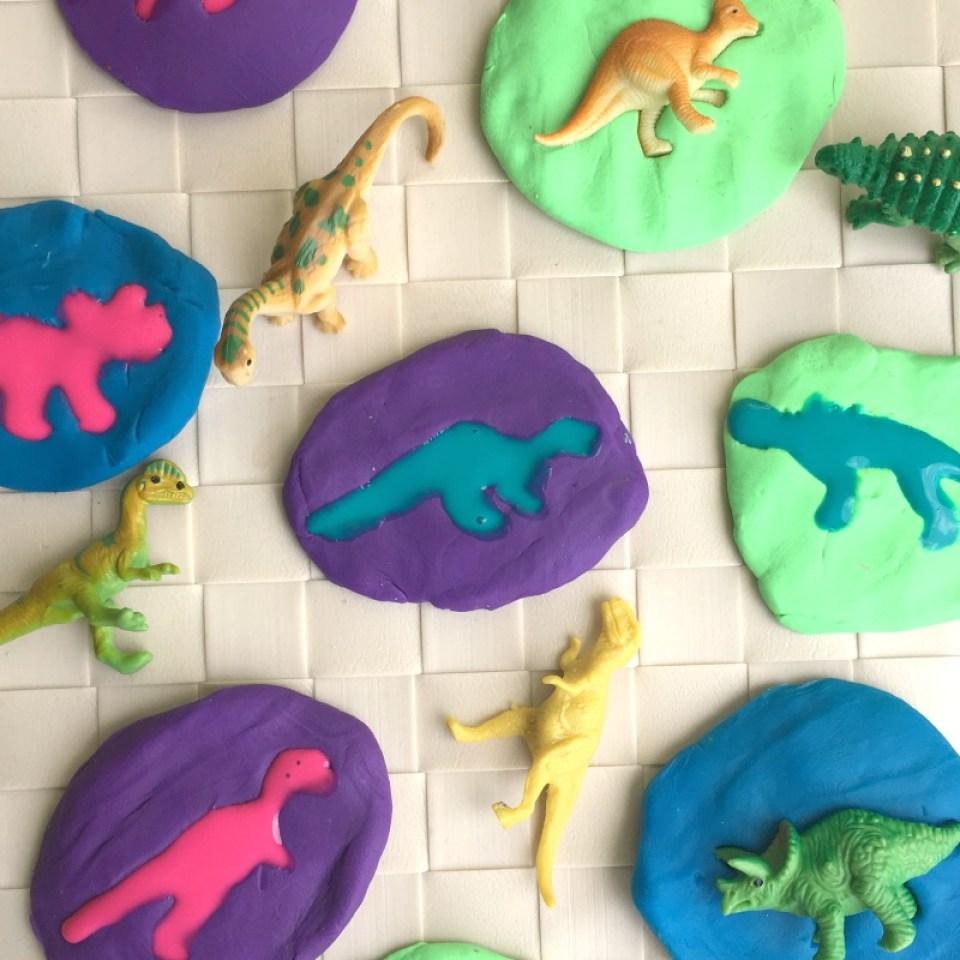 Dinosaur Craft Fossil