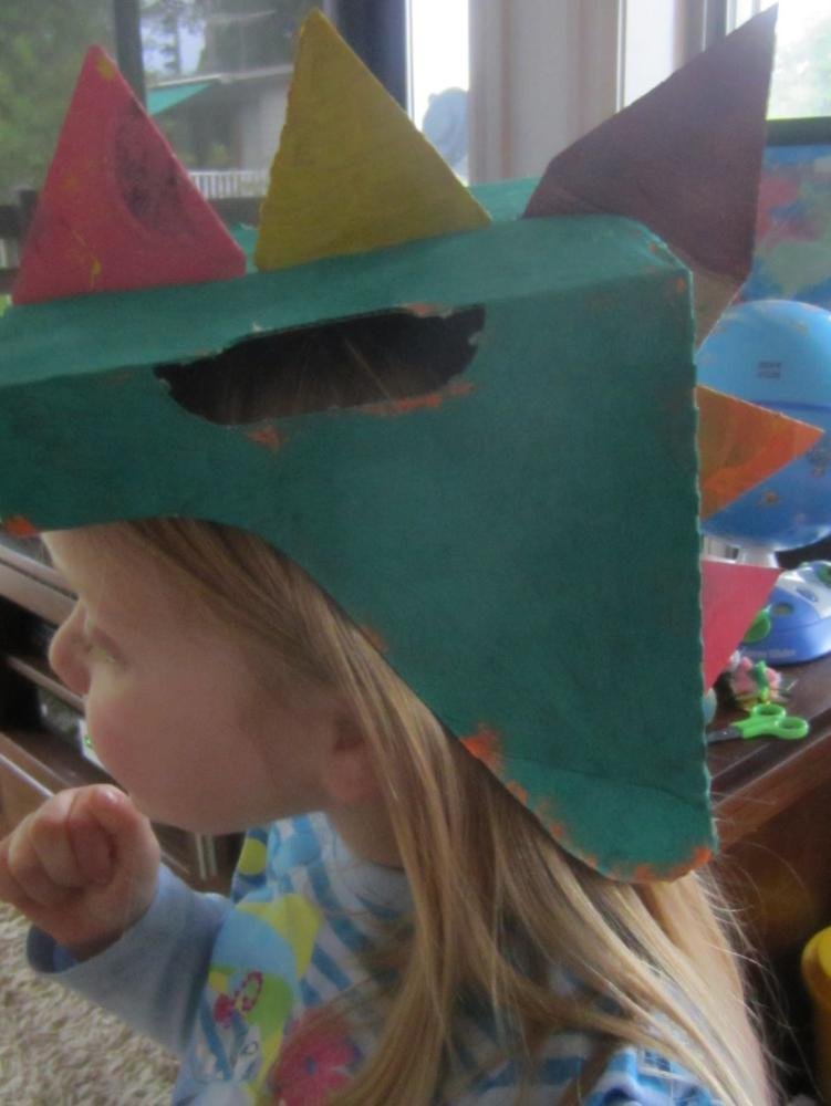 Dinosaur Craft Helmet