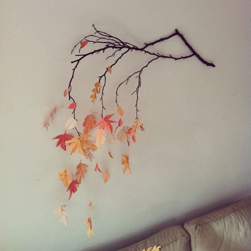 Fall Crafts Wall Decoration