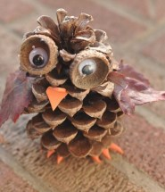 Fall Crafts Pine Cone